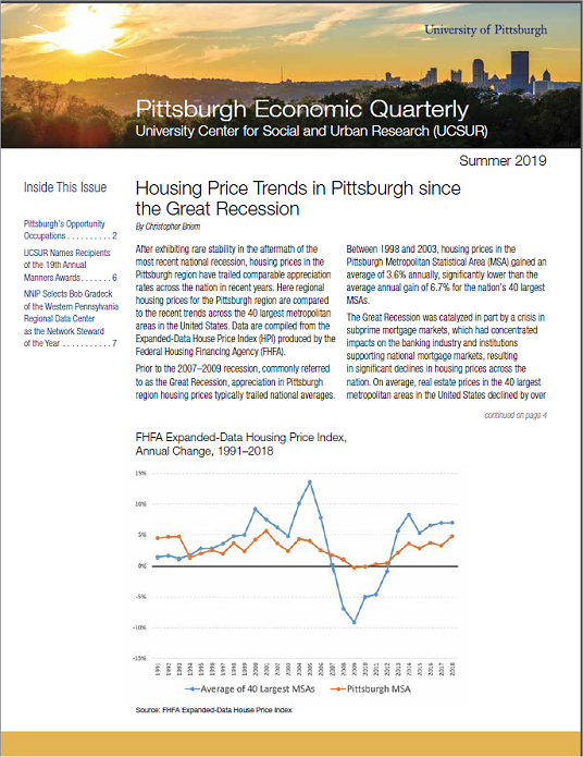 Pittsburgh Economic Quarterly